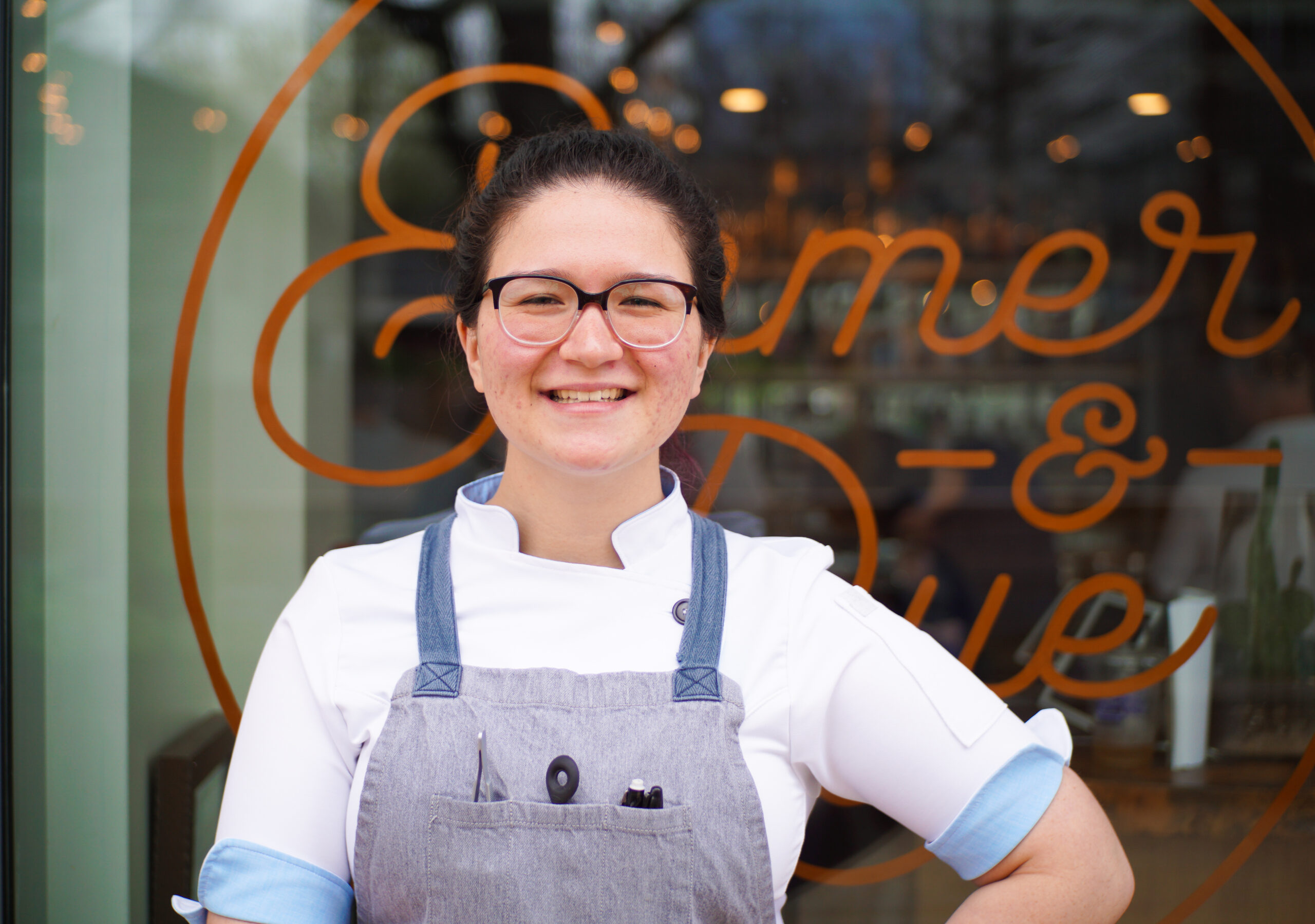 Aiko Lyne Head Pastry Chef at Emmer & Rye