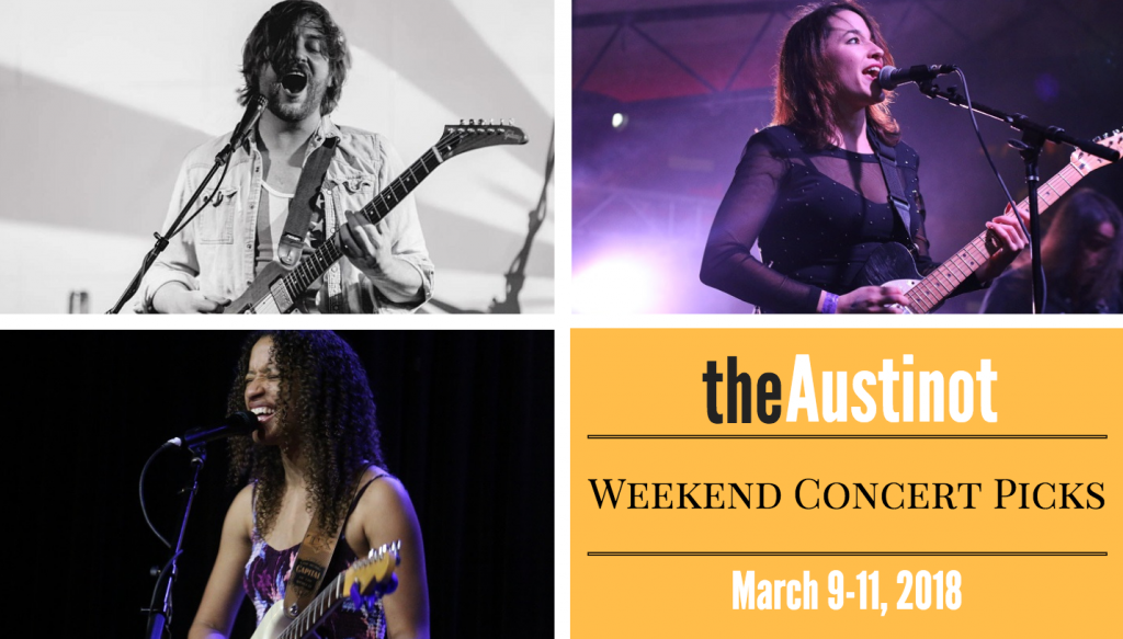 Austinot Weekend Concert Picks March 9