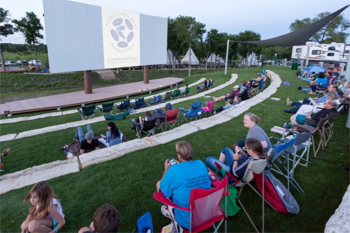 Community Cinema and Amphitheater
