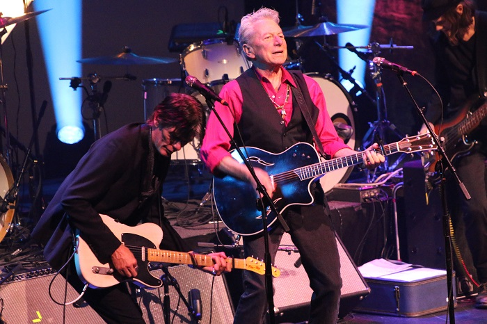 Joe Ely and Charlie Sexton at Austin Music Awards