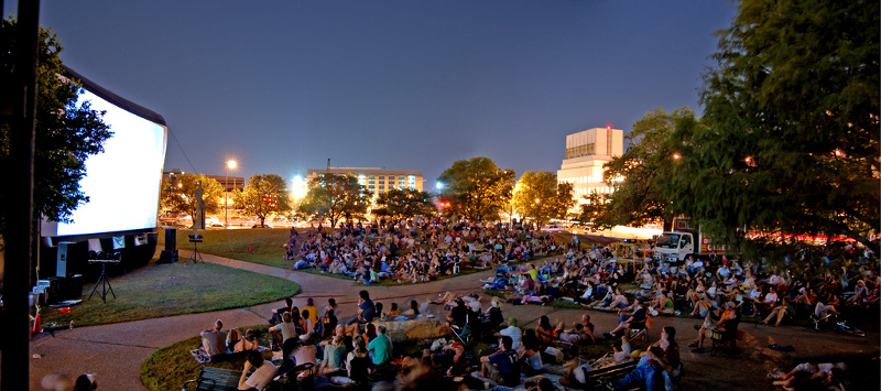 Outdoor Movie Events in Austin, Texas
