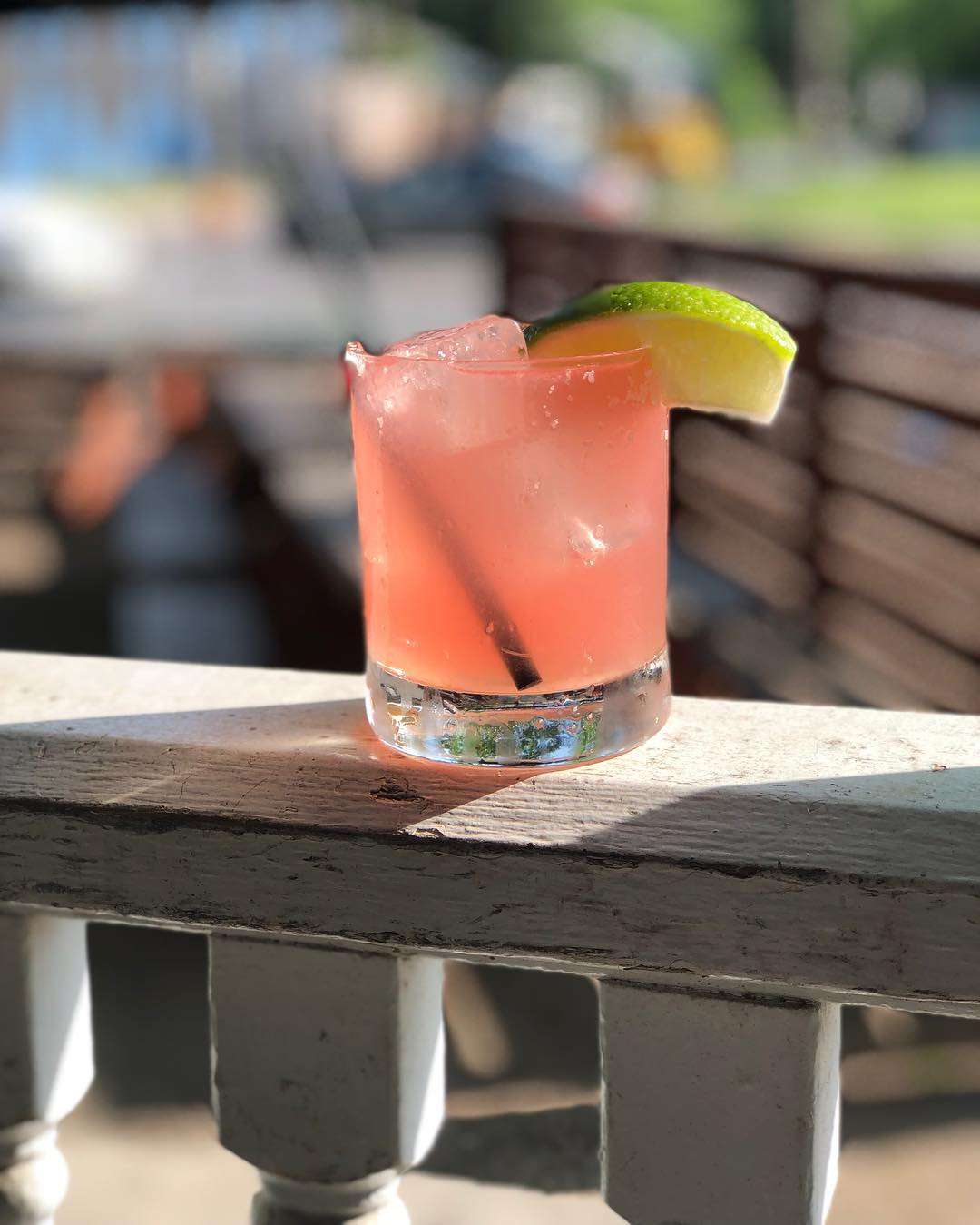 Watermelon margarita Craftsman Bar Austin