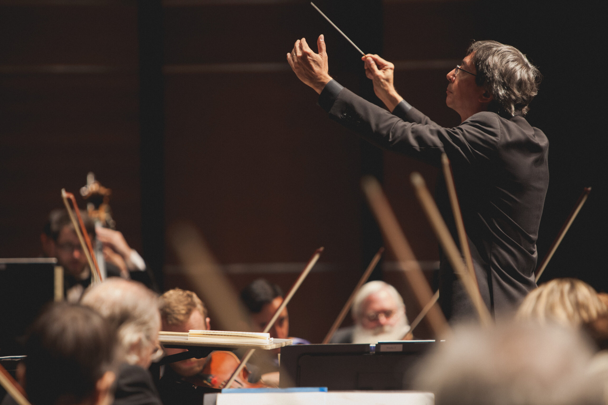 Conductor Peter Bay Austin Symphony Orchestra