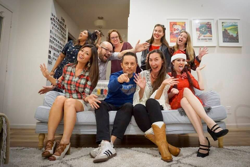 Austinot Blogger Christmas Party 2017