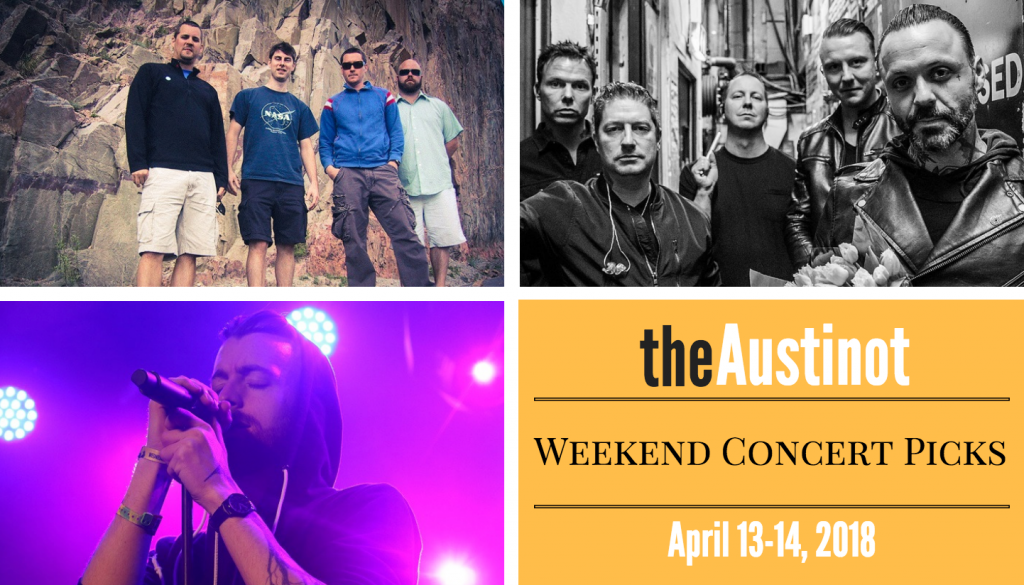 Austinot Weekend Concert Picks April 13