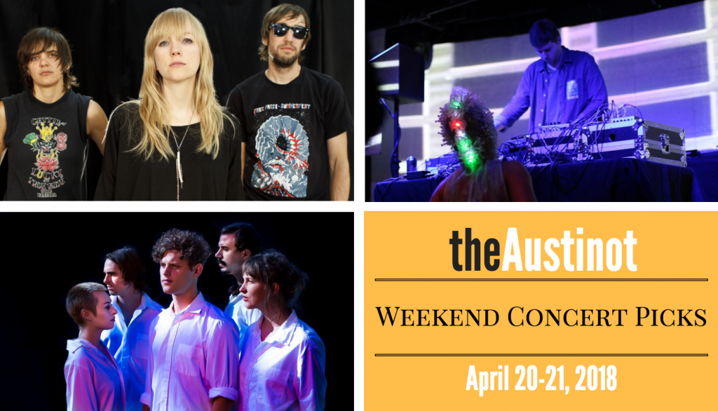 Austinot Weekend Concert Picks April 20