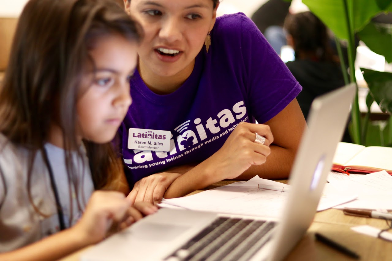 Latinitas Empowers Young Latinas With Media and Technology Skills