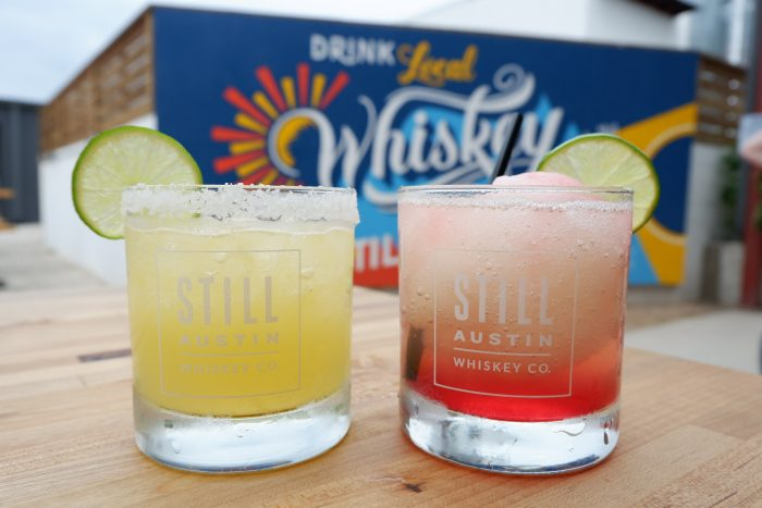 Margaritas With Whiskey at Still Austin