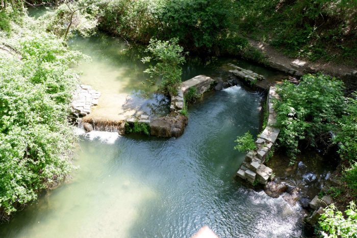 Risien Park in San Saba, Texas