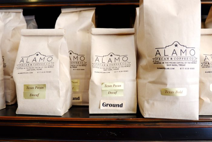 Alamo Texas Pecan Coffee in San Saba