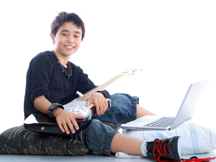 Online Music Lessons for Foster Children