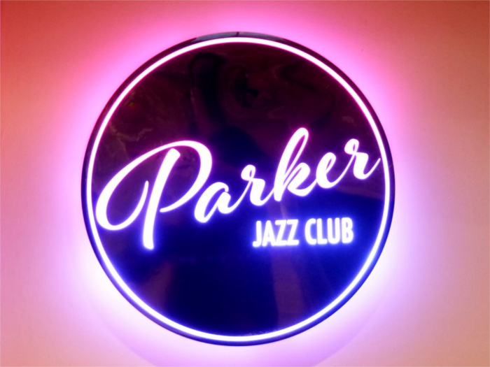 Parker Jazz Club Sign
