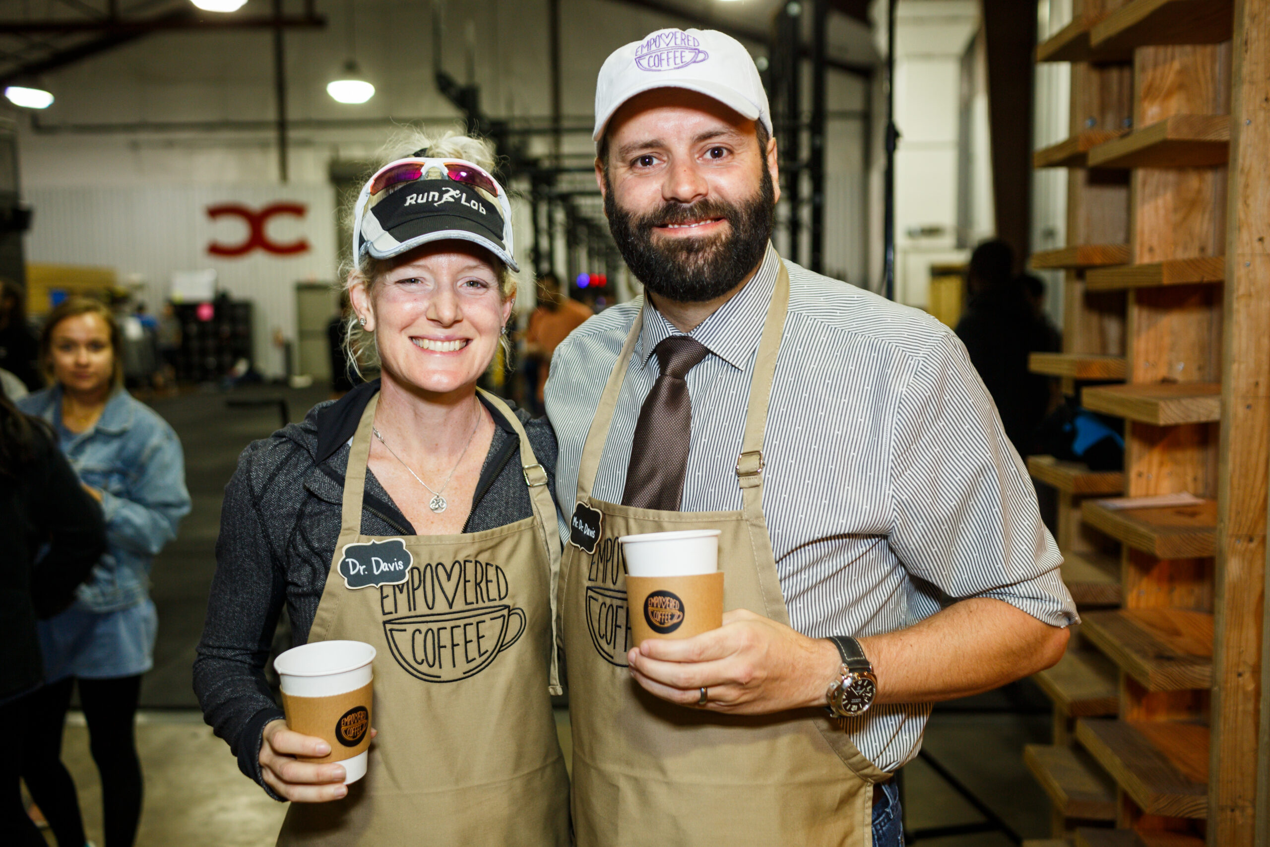 Owners of Empowered Coffee in Austin