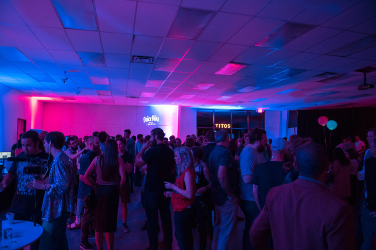 Motion Media Arts Center Networking Event