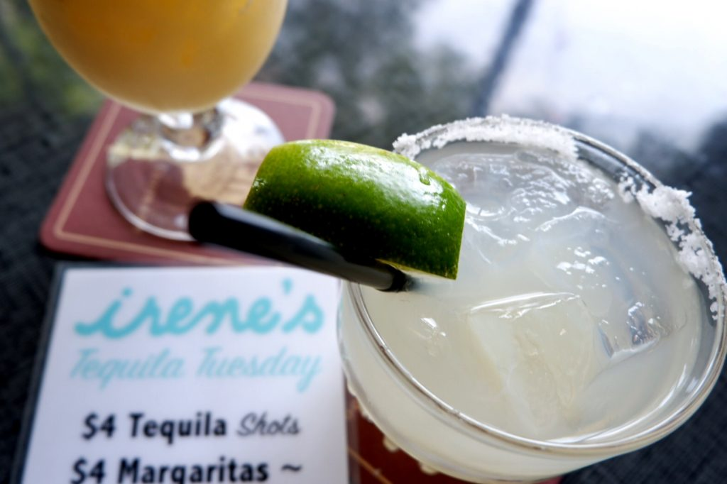 Tequila Tuesday at Irene's