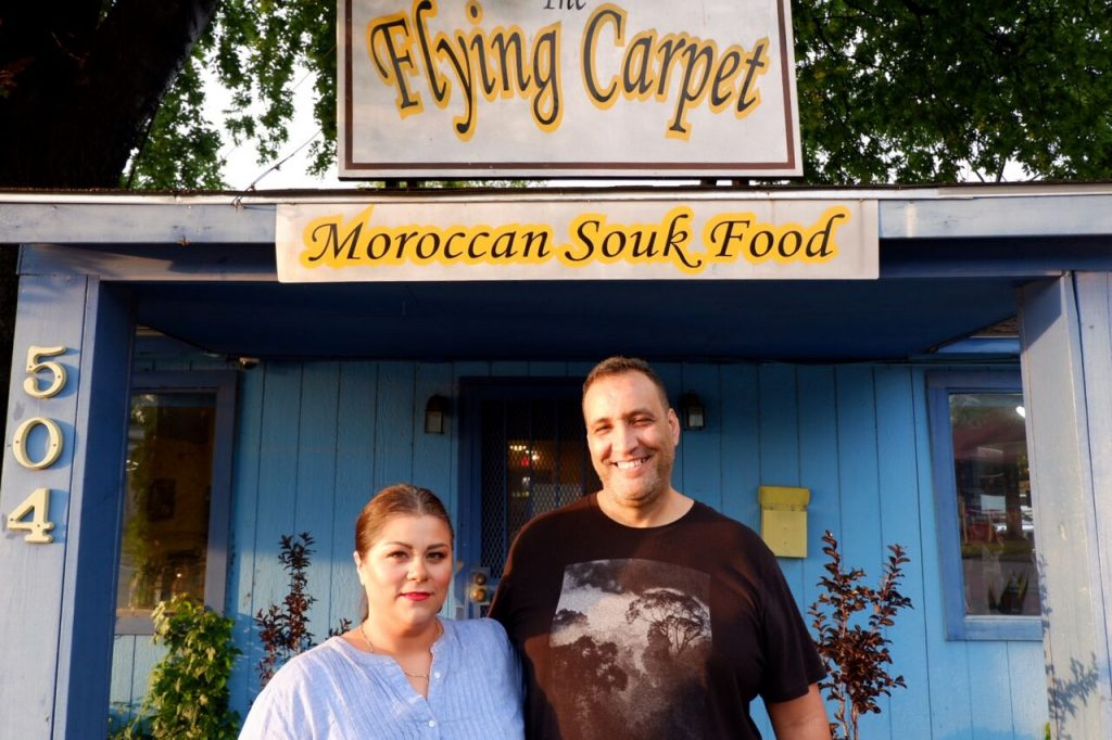 The Flying Carpet Moroccan Food in Austin