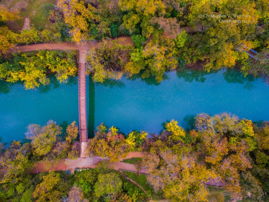 Barton Creek Pedestrian Bridge Austin
