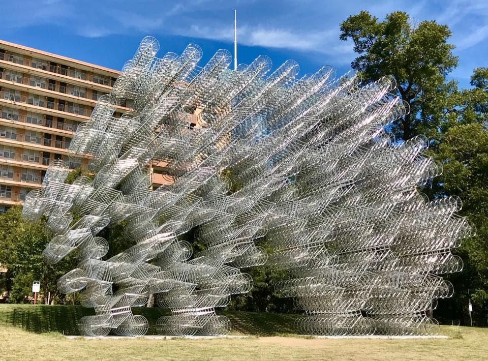 Forever Bicycles Sculpture Austin