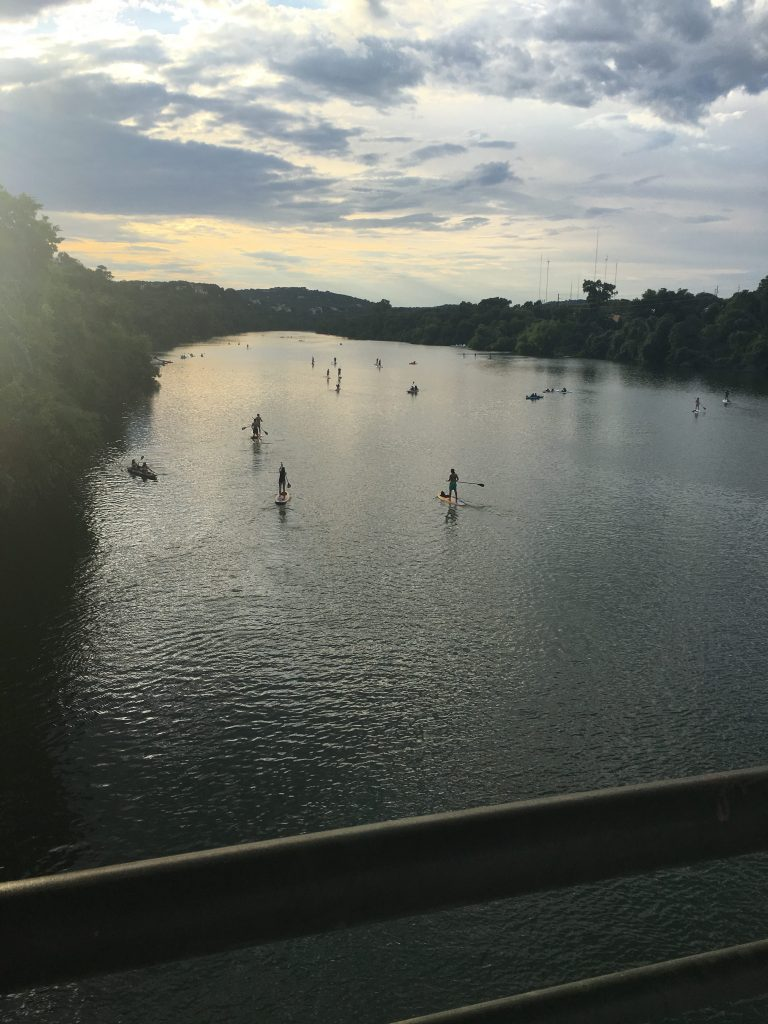 Lady Bird Lake View from Mopac Bridge