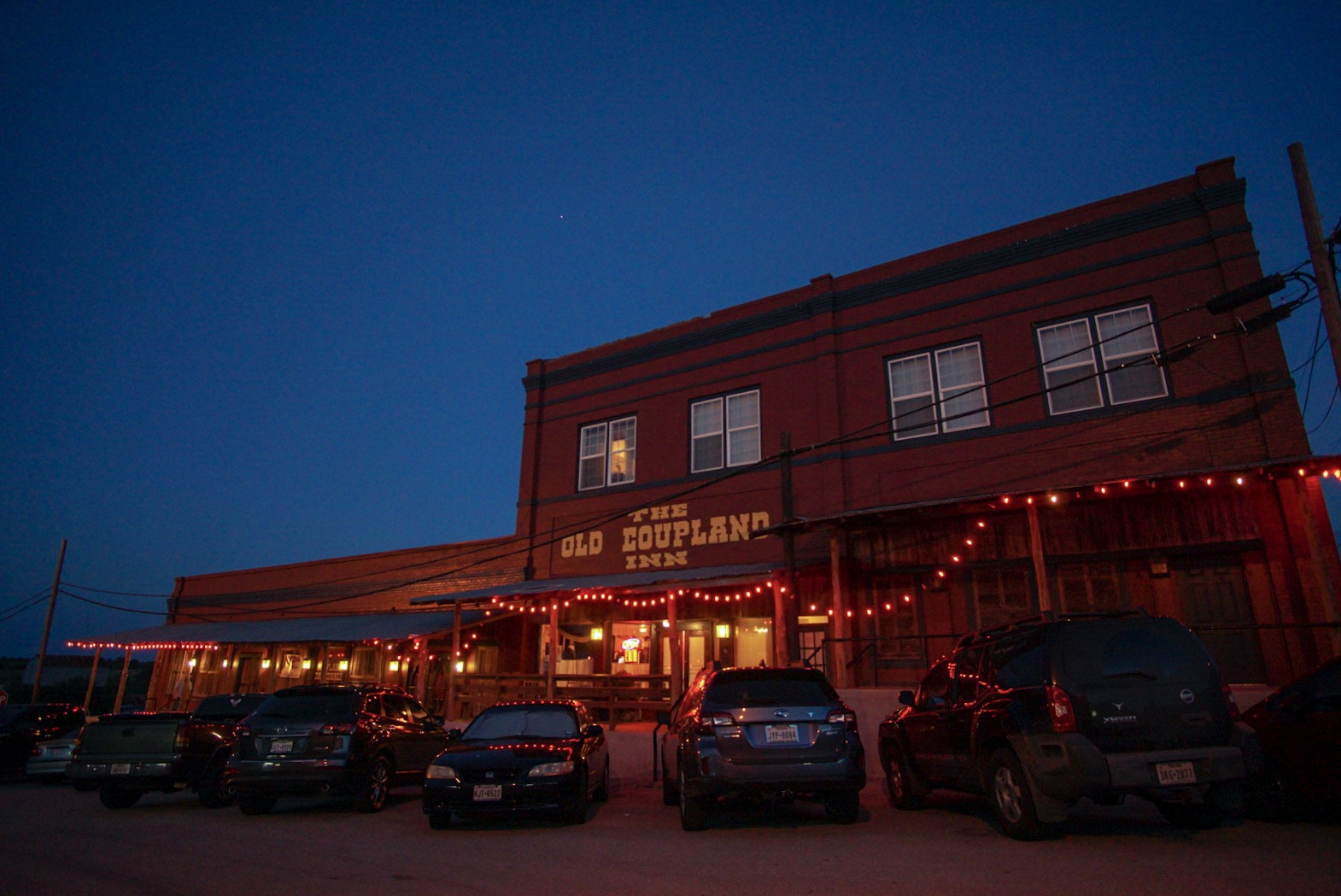 The outside of The Coupland Inn