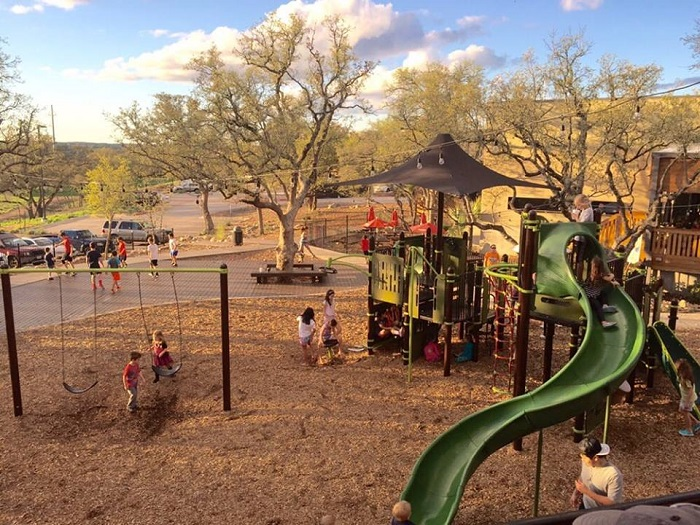Family-Friendly Restaurant in Austin with a Playground