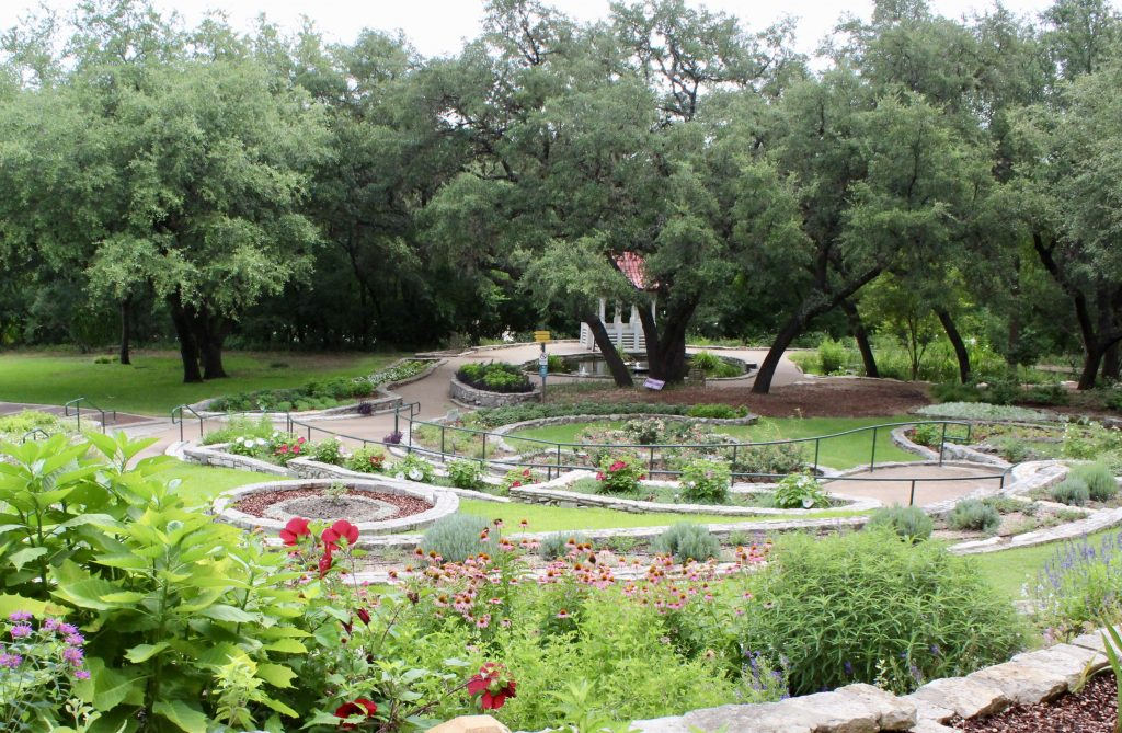 Zilker Botanical Garden in Austin Texas