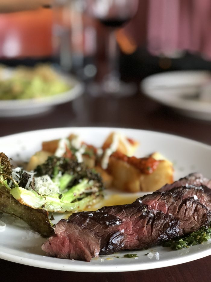 The Rotten Brunch Hanger Steak