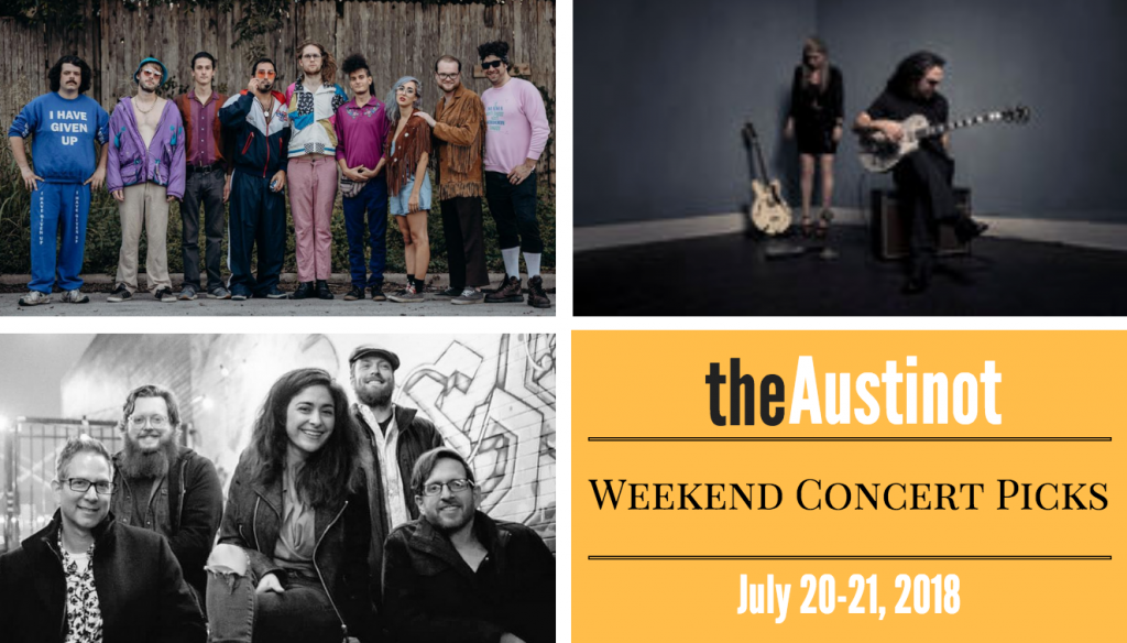 Austinot Weekend Concert Picks June 20 2018