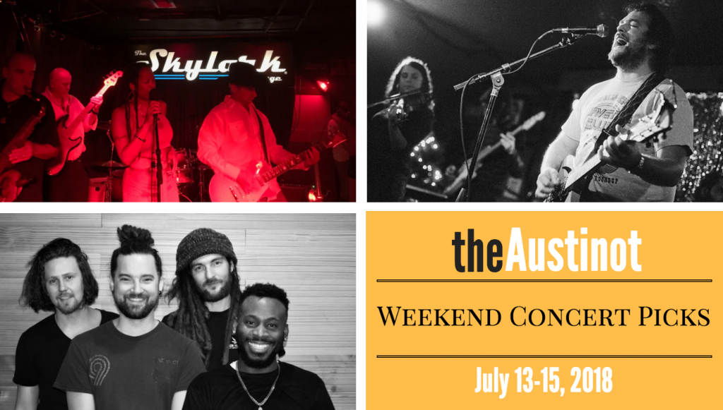 Austinot Weekend Concert Picks July 13 2018