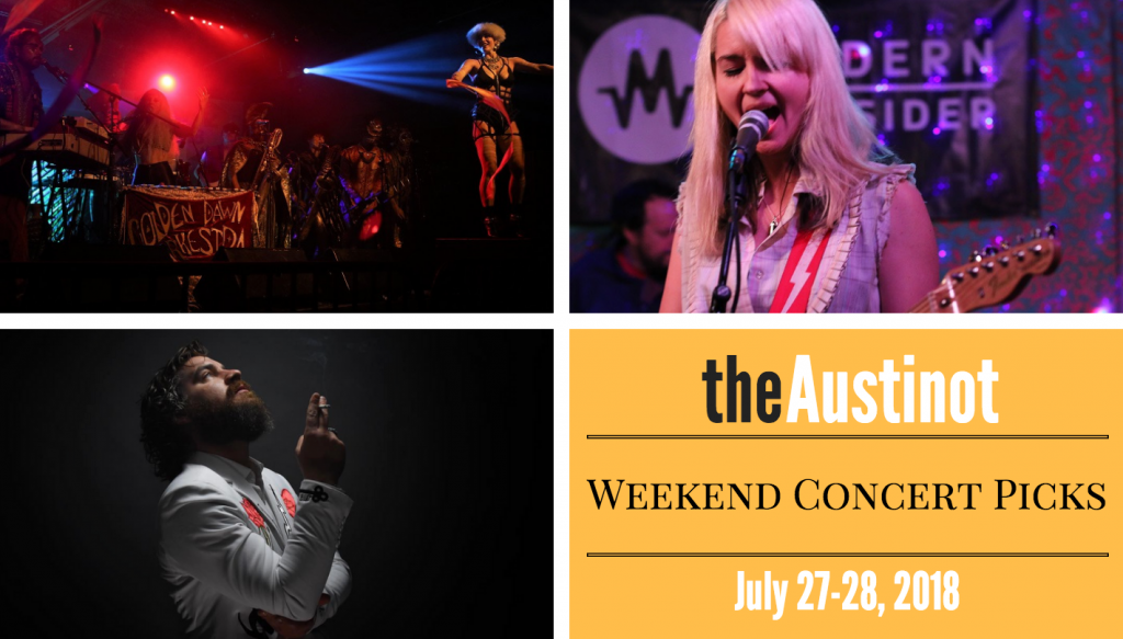 Austinot Weekend Concert Picks July 27