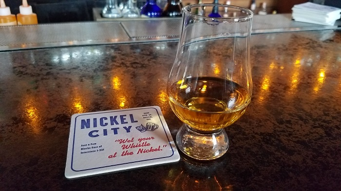 Nickel Creek Whiskey Selection