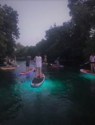 Glow SUP Tour with Paddle SMTX