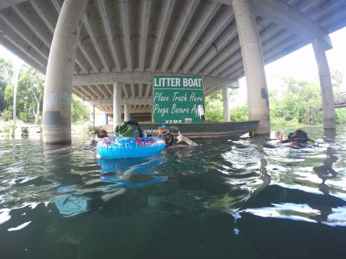 Keep the San Marcos River Clean