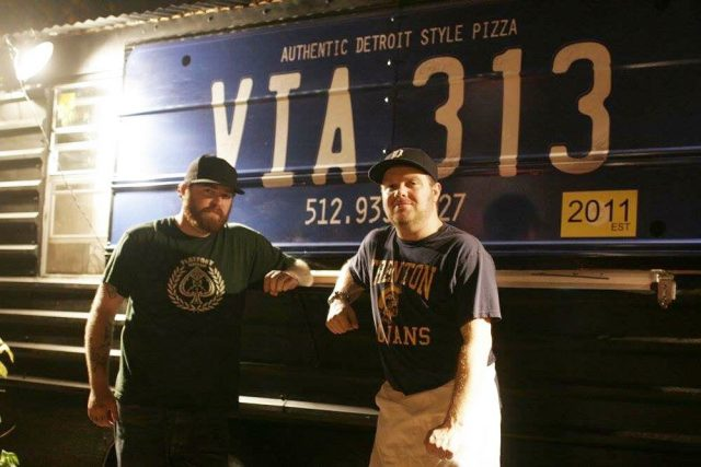 Via 313 Pizza Owners Brandon and Zane Hunt