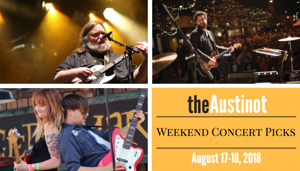 Austinot Weekend Concert Picks August 17