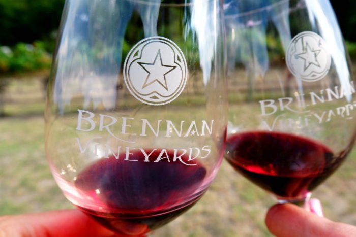 Brennan Vineyards in Comanche, TX