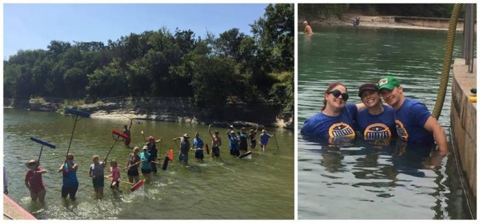 The ABGB Barton Springs Pool Cleanup