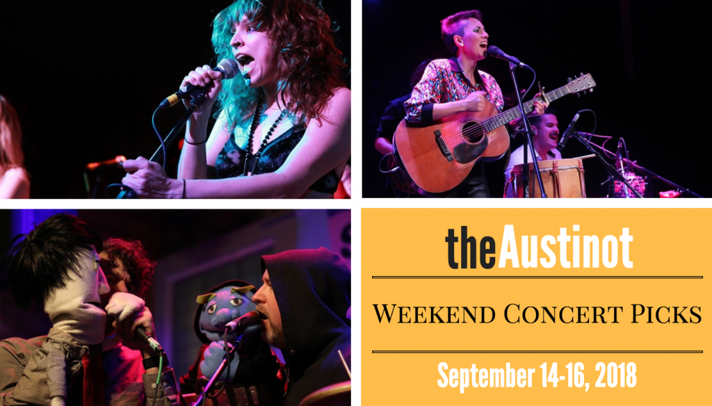 Austinot Weekend Concert Picks Sept 14 2018