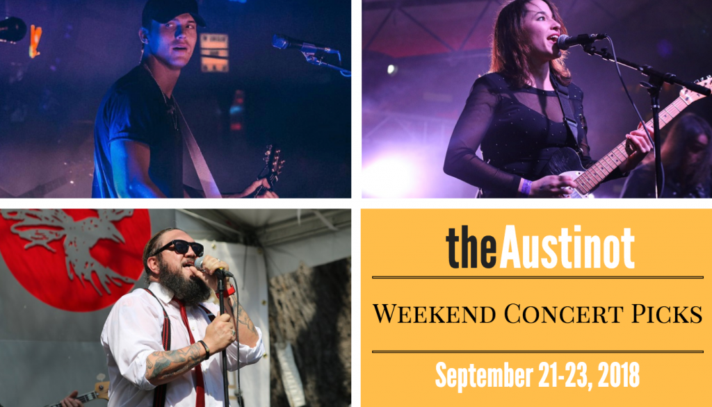Austinot Weekend Concert Picks Sept 21