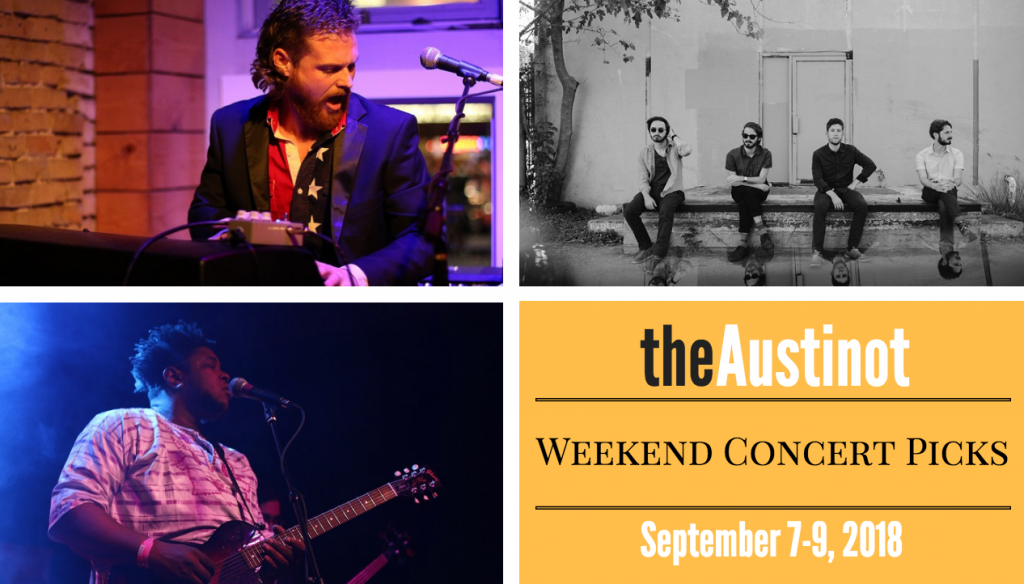 Austinot Weekend Concert Picks Sept 7