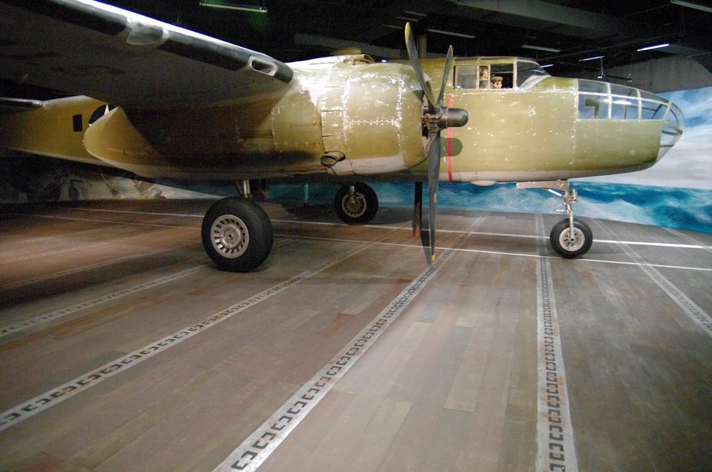Doolittle B-25 Museum Exhibit