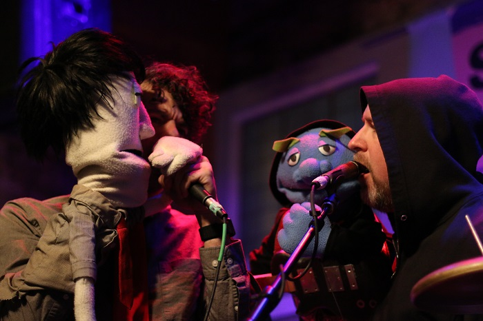 Fragile Rock Austin Band With Puppets