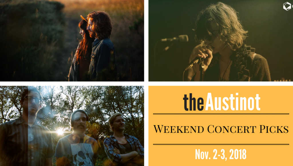 Austinot Weekend Concert Picks Nov 2 2018