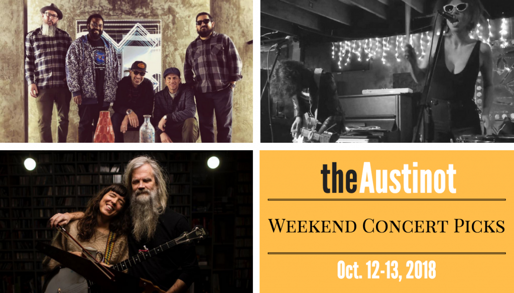 Austinot Weekend Concert Picks Oct 12 2018