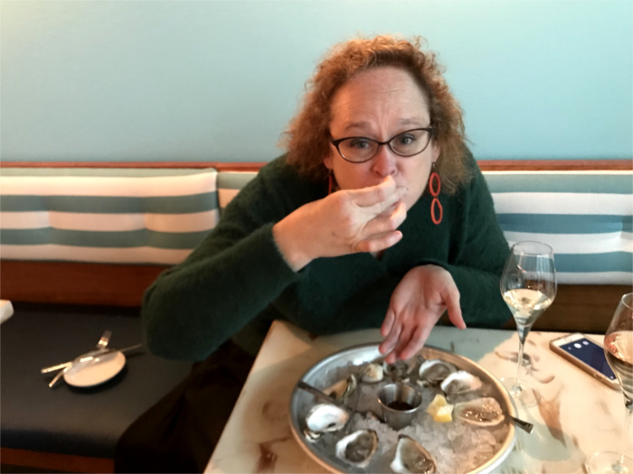 Bubbly and Oysters at Aviary