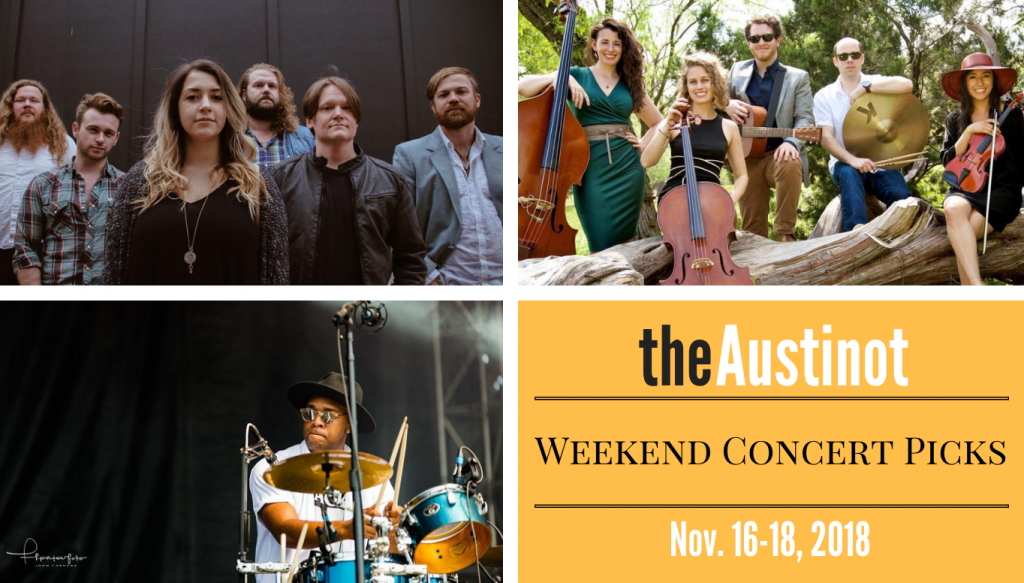 Austinot Weekend Concert Picks Nov 16