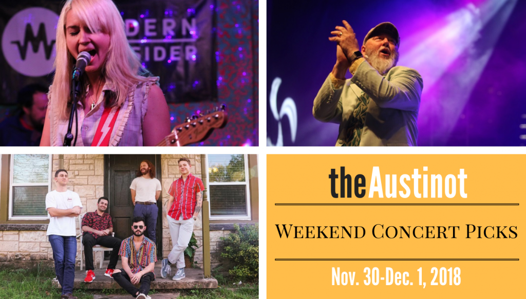 Austinot Weekend Concert Picks Nov 30