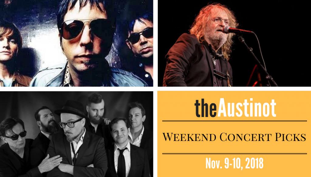 Austinot Weekend Concert Picks Nov 9 2018