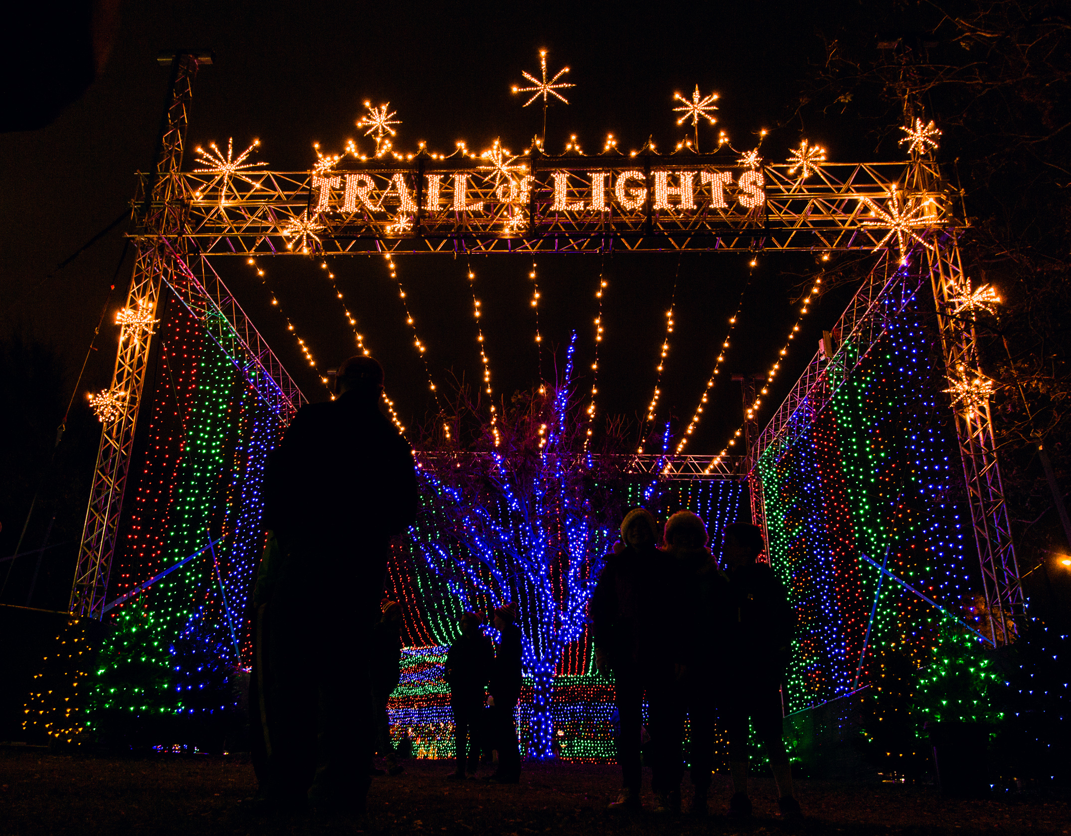 Trail of Lights Entrance Austin