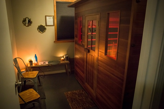 Sage Blossom Massage Group Sauna